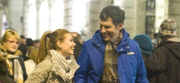 Fabrizio frizzi e carlotta mantovan natale con dolce for Fabrizio frizzi e carlotta mantovan