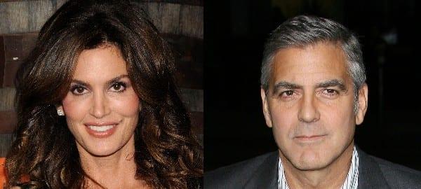 George Clooney e Cindy Crawford