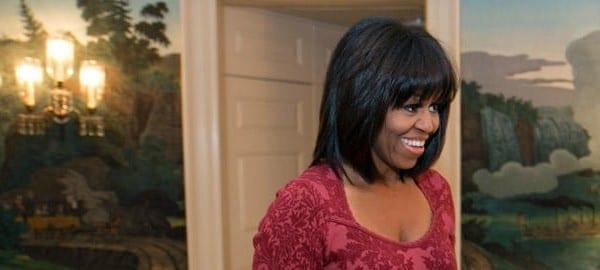 Michelle Obama frangia