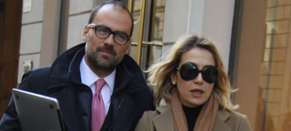 Francesca Senette con Marcello Forti