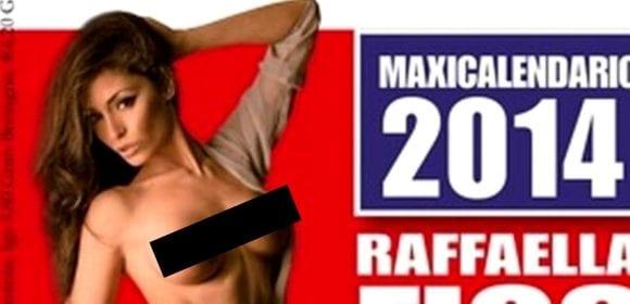 For Men Calendario.Raffaella Fico Un Calendario Hot Per For Men Magazine