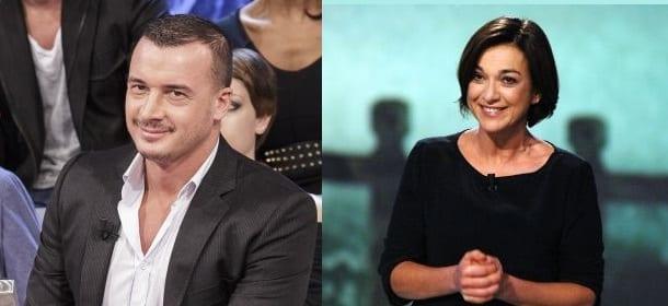 Rocco Casalino e Daria Bignardi