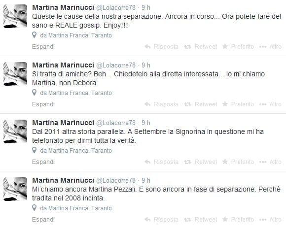 """Max Pezzali su Instagram con Debora, l'ex moglie Martina: """"Stanno ..."""