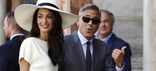 La coppia Clooney-Amal già in crisi? Rumors dagli Usa