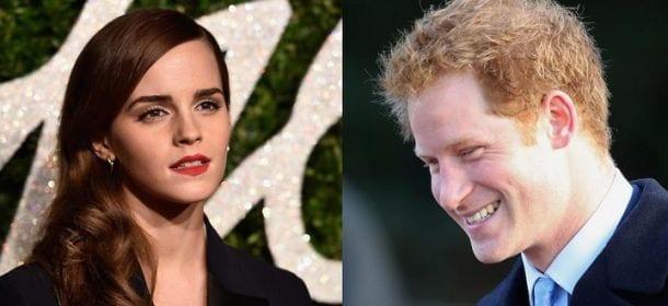 Principe Harry, flirt con l'attrice Emma Watson?