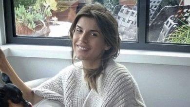 Elisabetta Canalis al quinto mese di gravidanza: la prima foto col pancione