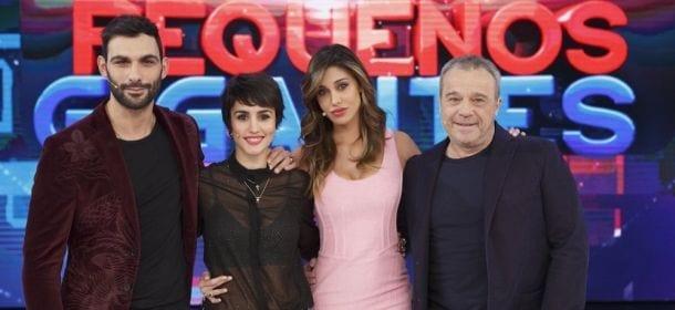 """Ascolti tv venerdì 4 marzo 2016: Belen vince con """"Pequenos Gigantes"""" contro """"Made in Sud"""""""