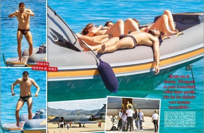Marco Mengoni, nudo al mare con amici e...