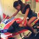"Belen Rodriguez al MotoGp: ""Belen ai bordi della pista. Questo è un attentato!!!"" [FOTO]"