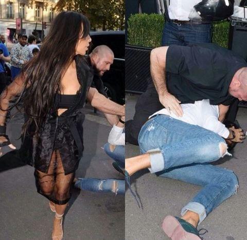 Kim Kardashian choc, assalita