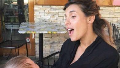 Elisabetta Canalis, i primi passi della figlia Skyler Eva [VIDEO]