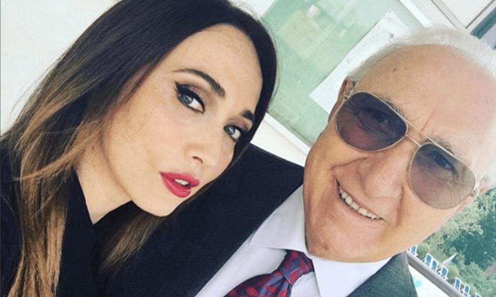Pippo Baudo con Chiara Francini a Domenica in: sarà ricca e rosa