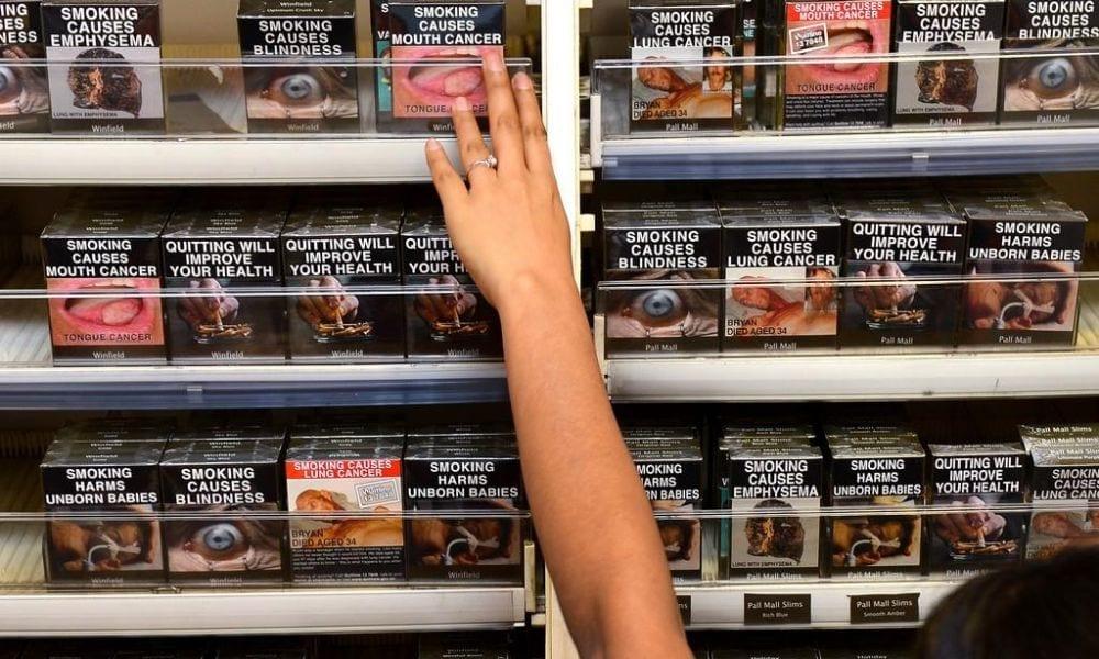 Foto sulle sigarette: