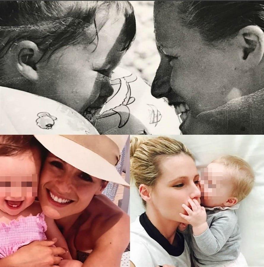 Michelle e le figlie