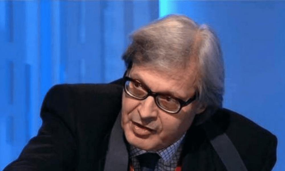 """Vittorio Sgarbi non ha dubbi: """"Invece di dire capra dirà Alfano!"""""""