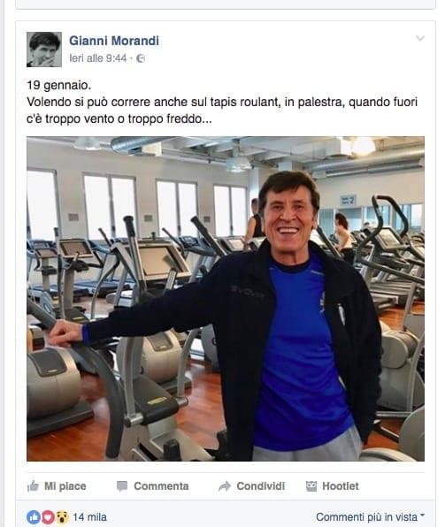 Gianni Morandi e la gaffe sul terremoto: ecco le scuse del cantante