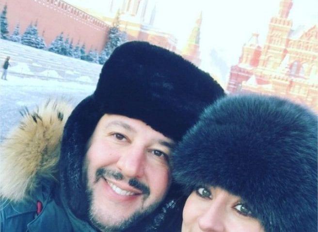Matteo Salvini, vacanze d'amore in Russia [FOTO]