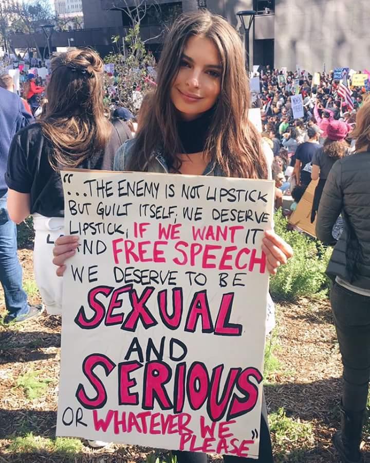Emily Ratajkowski: femminista non per caso