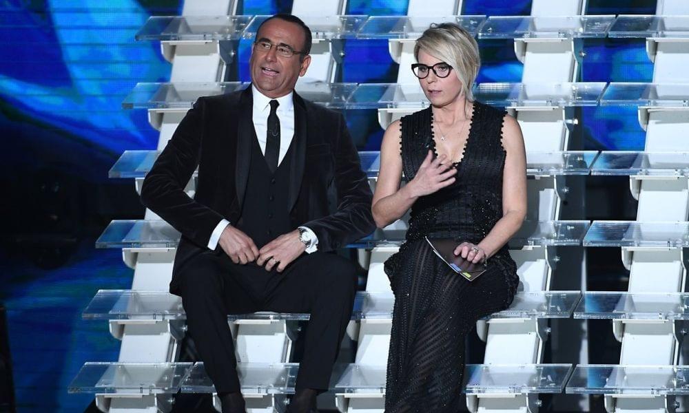 Sanremo 2017: seconda serata, i look di Maria De Filippi
