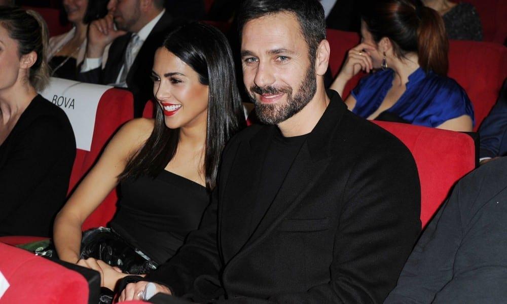 Raoul Bova e la fidanzata Rocio Munoz Morales a Sanremo 2017 [ESCLUSIVA FOTO]