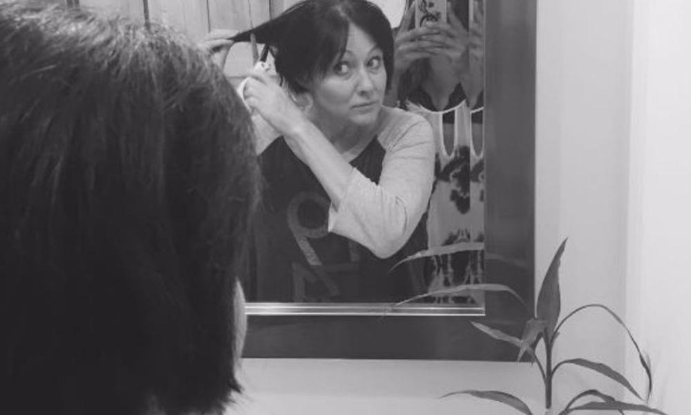Shannen Doherty: prima uscita dopo il cancro