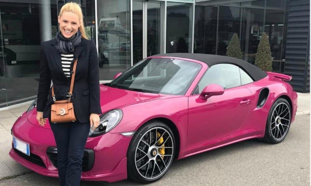 Michelle Hunziker e quella Porsche rosa sparita…