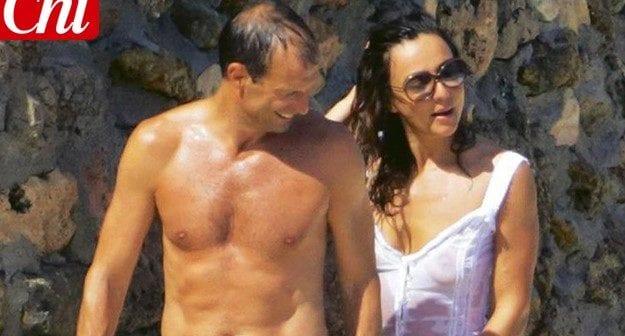 Ambra Angiolini e Massimiliano Allegri: vacanze separate