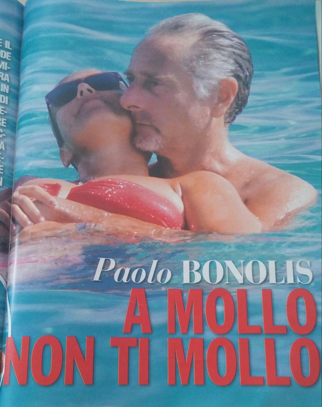 Paolo Bonolis vacanze d'amore con la moglie Sonia Bruganelli [FOTO]