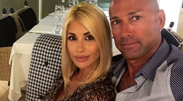 Stefano Bettarini e Nicoletta Larini. Lui: