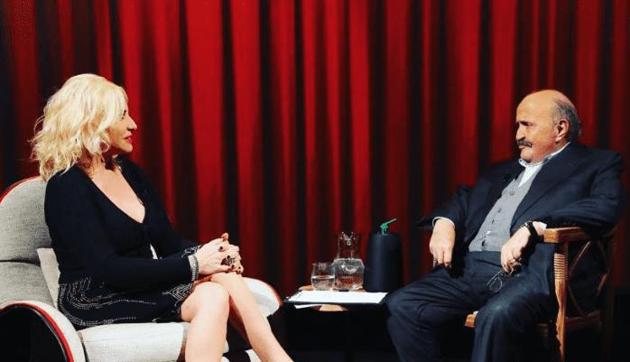 Antonella Clerici a L'Intervista: