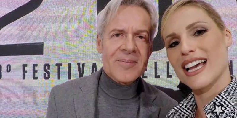 Claudio Baglioni e Michelle Hunziker 'ignorano' Pippo Baudo?