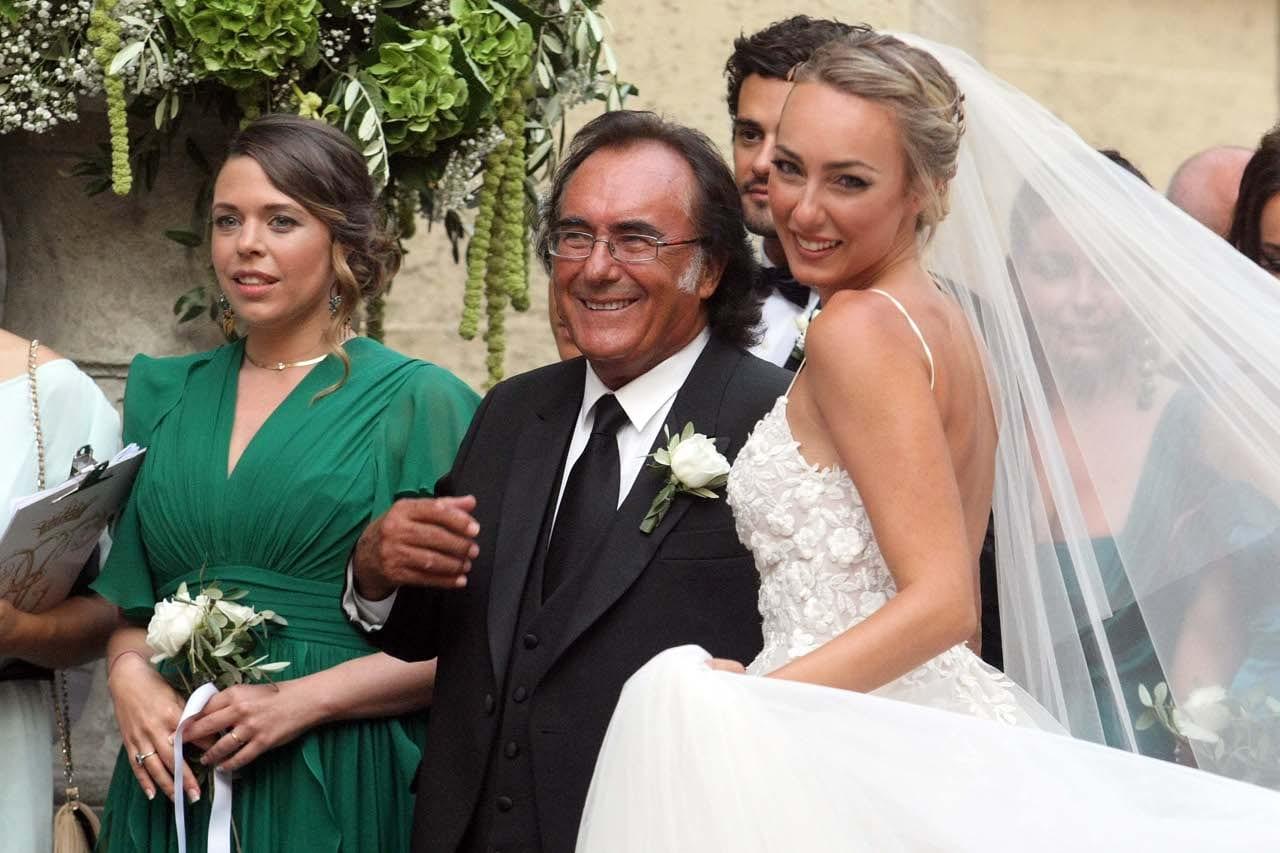 Albano diventa nonno a maggio, di chi? Incinta la figlia Cristel