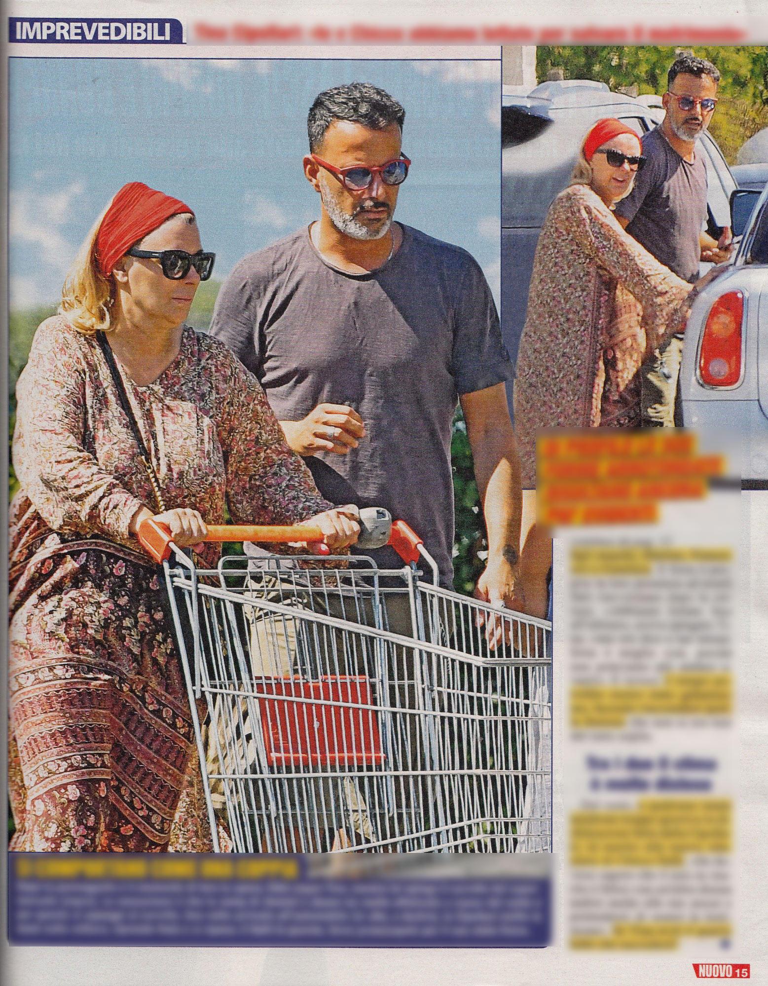 Tina Cipollari insieme a Chicco Nalli con una pancia sospetta. Nuova gravidanza?