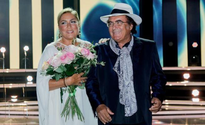 Albano Carrisi riceve una dedica d'amore da parte di Romina Power