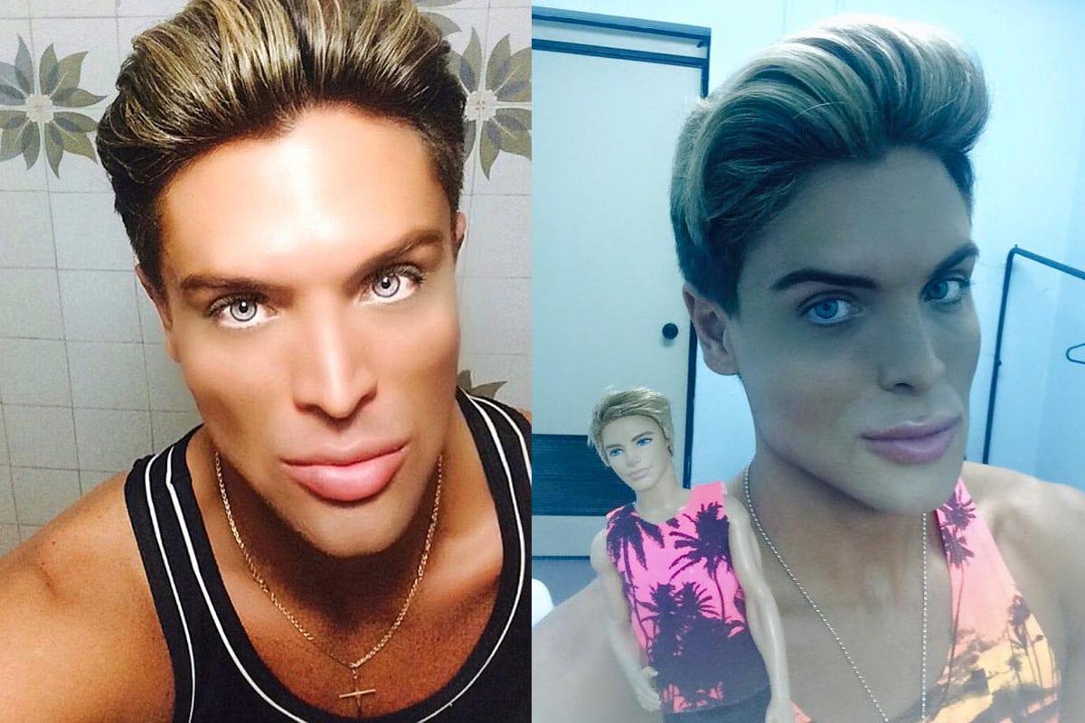 Mauricio Galdi, ecco chi è il nuovo Ken umano brasiliano [FOTO]