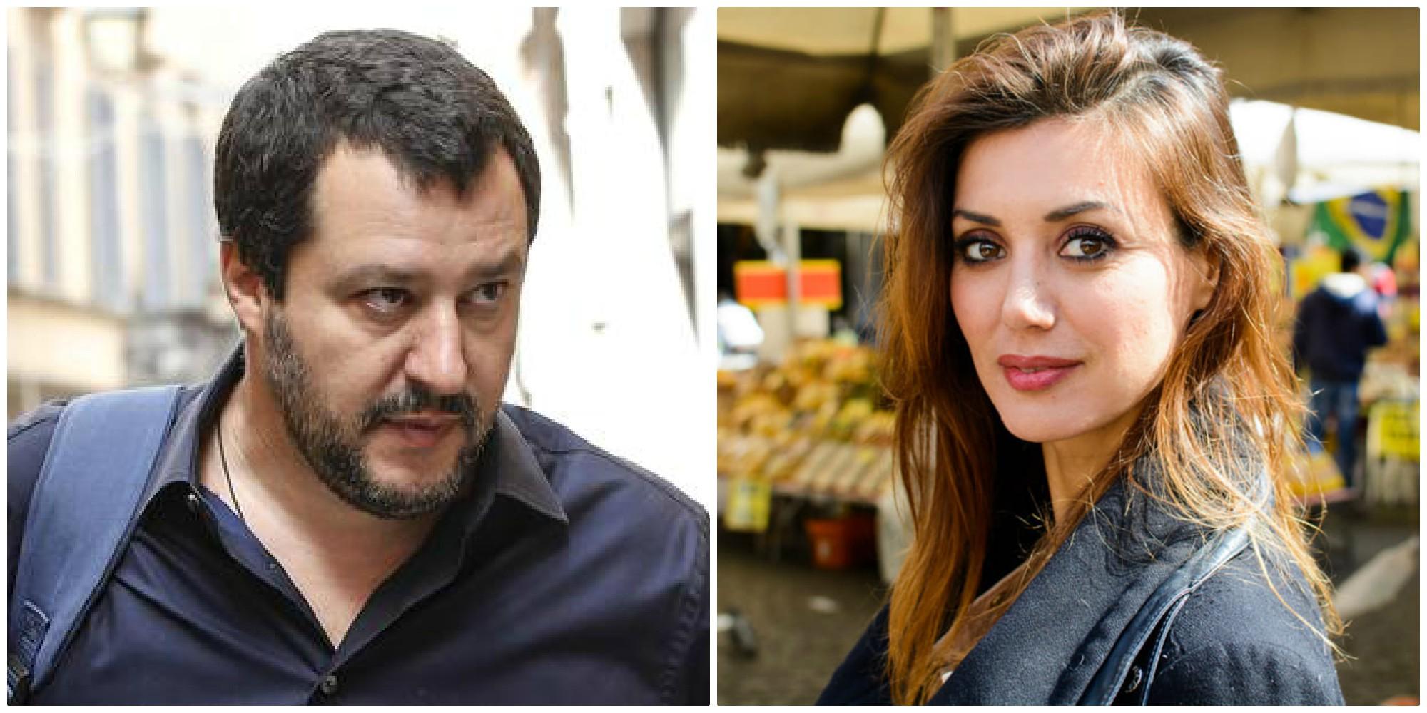 Matteo Salvini contro Daniela Martani che accusa: