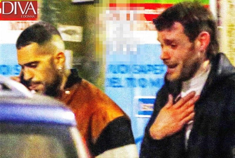 Mahmood litiga col suo fidanzato: la scenata in strada