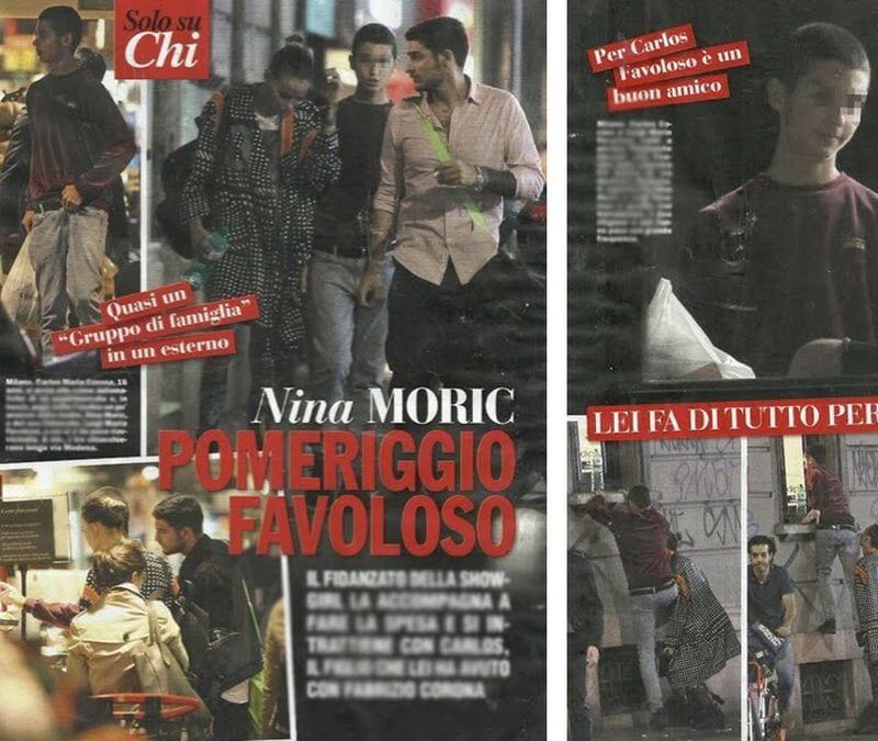 Nina Moric e Luigi Favoloso sono tornati insieme? La dichiarazione d'amore