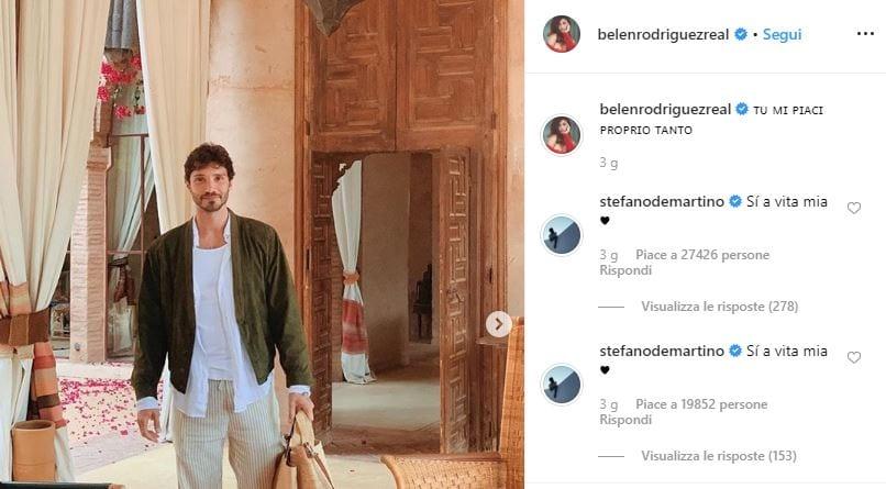 De Martino si confessa: la separazione da Belen e news sulla coppia