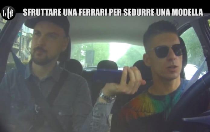 Scherzo a Bruno Vanzan: Le Iene rubano la sua preziosa Ferrari