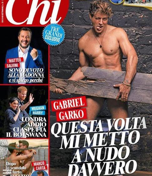 Garko Calendario.Gabriel Garko Completamente Nudo La Foto Scandalosa