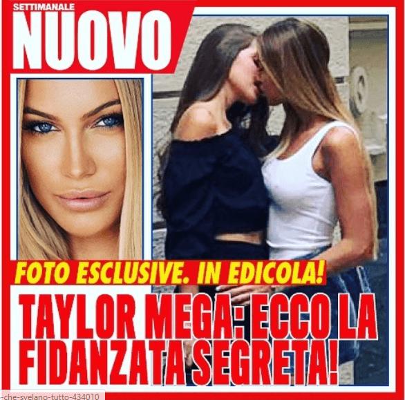 Taylor Mega, bacio con un'ex corteggiatrice di Uomini e Donne