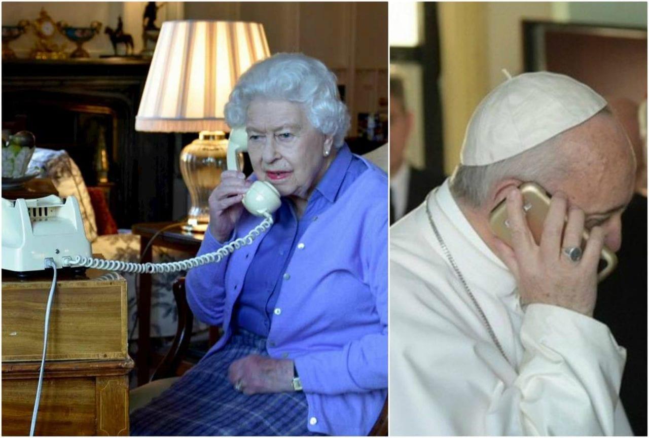 La Regina Elisabetta Come Papa Francesco Chiama A Sorpresa Per Velvetgossip
