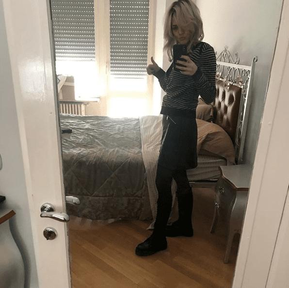 Laura Chiatti a dieta durante la quarantena?