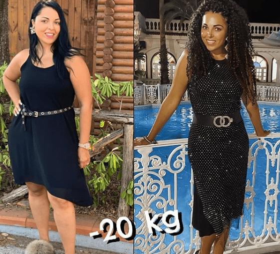 Nancy Coppola dimagrita venti chili: la foto prima e dopo della cantante