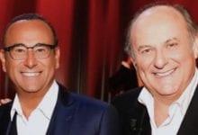 """Gerry Scotti e Carlo Conti: """"Il covid ha rafforzato la nostra amicizia"""""""
