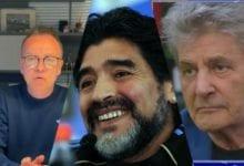 Diego Armando Maradona, Gigi D'alessio e Fausto Leali ricordo