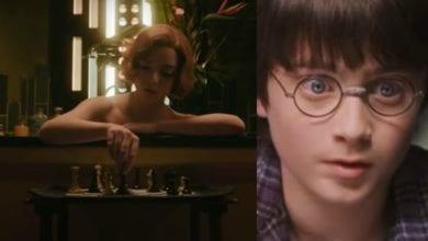 La regina degli scacchi e Harry Potter: dettaglio in comune. L'avete notato?