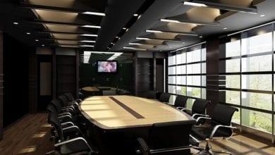 video a luci rosse nella sala comunale