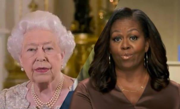 """Regina Elisabetta, Michelle Obama svela il gesto proibito: """"Un passo falso epico"""""""